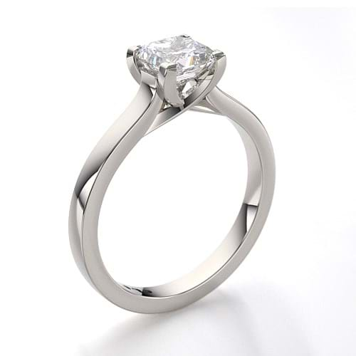 Cushion Cut Diamond Solitaire